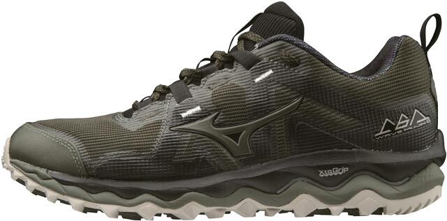 Running Shoes – Mens Mizuno Wave Mujin 4 G Tx Black Green Mens, Running Shoes, Shoes